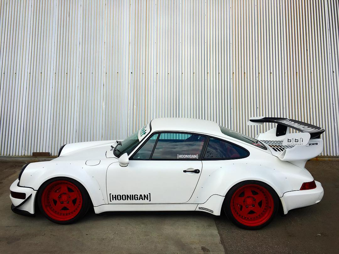 #RWBxHOONIGAN posted up at #luftgekühlt.