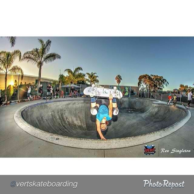 "by @vertskateboarding ""Mimi Knoop, Eggplant at Mission Valley YMCA Krause Family Skate and Bike Park, Rex Singleton photo @knoopdogg @paparexi @clairemontskatepark #vertskateboarding"" #skateboarding #skate #skatelife #eggplant"
