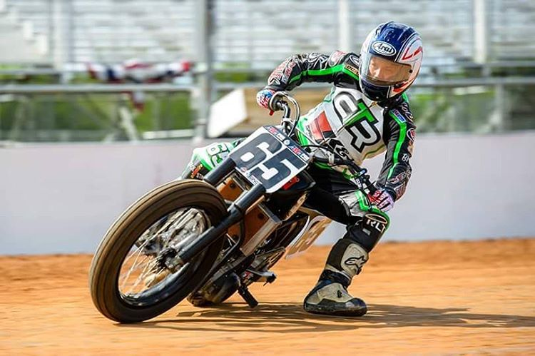 @CoryTexter and company threw down at @COTA_Official's Lone Star Half-Mile yesterday.  @HarleyDavidson Flat-Track Racing will return to #XGames Austin in June! (