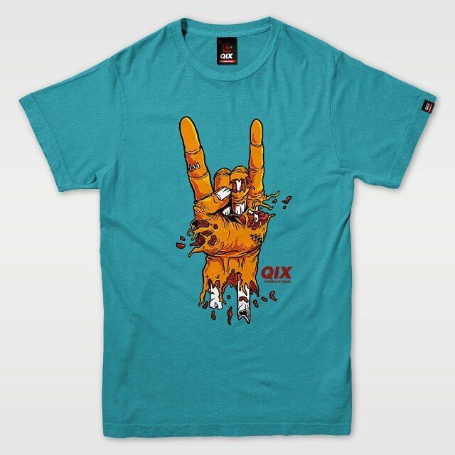 Camiseta QIX Special - Turquesa Confira essa é outras camisetas em nossa loja virtual! Disponível também em lojas de todo o Brasil #qix #tshirt #turquesa