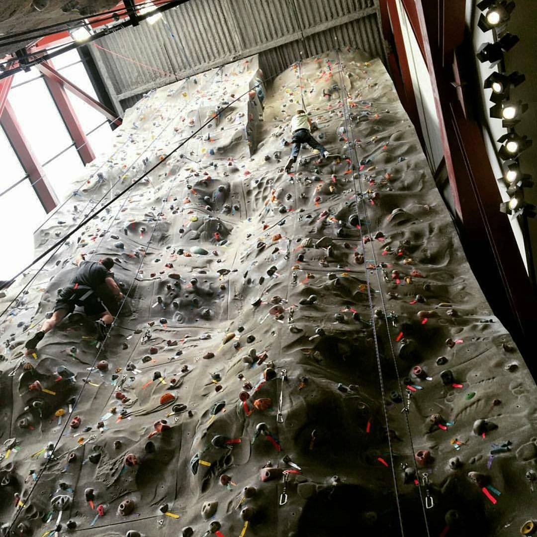 @sosoutreach #Baker youth starting their #climbing season early! Thanks @aryssawose for the #photo .