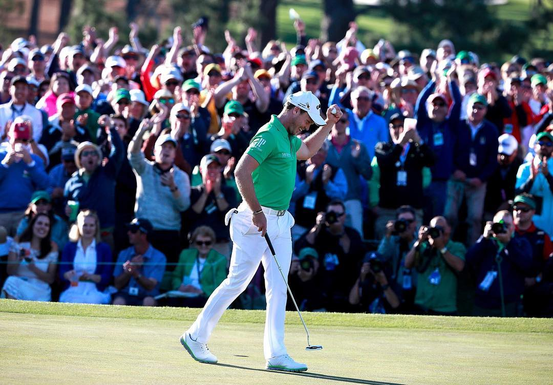 taking home the green jacket @themasters? yeah that's a #lifewithoutlaces. congrats again @dannywillett! #dannywillett #2016masters