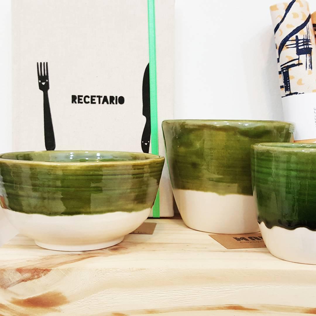 CASA MAMBO / Taza, bowl y mug verde