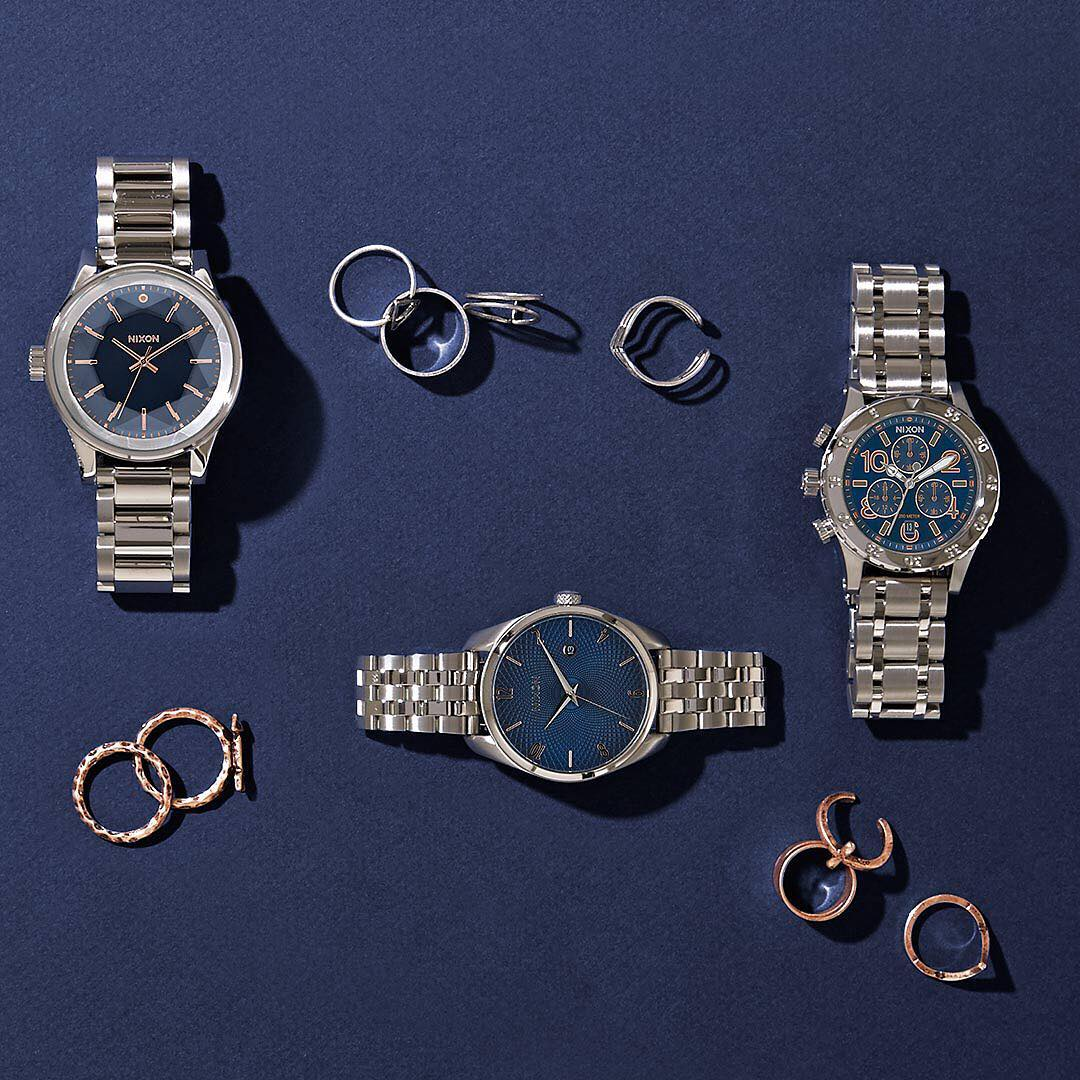 Only the best for mom: Welcome the Blue Rose Collection. Five of our favorite styles, one new look. #MothersDay #Nixon