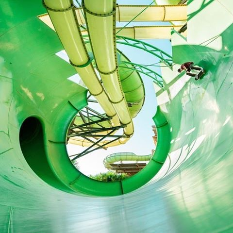 The ultimate halfpipe. See the full #WaterParkLockdown video at the link in our bio