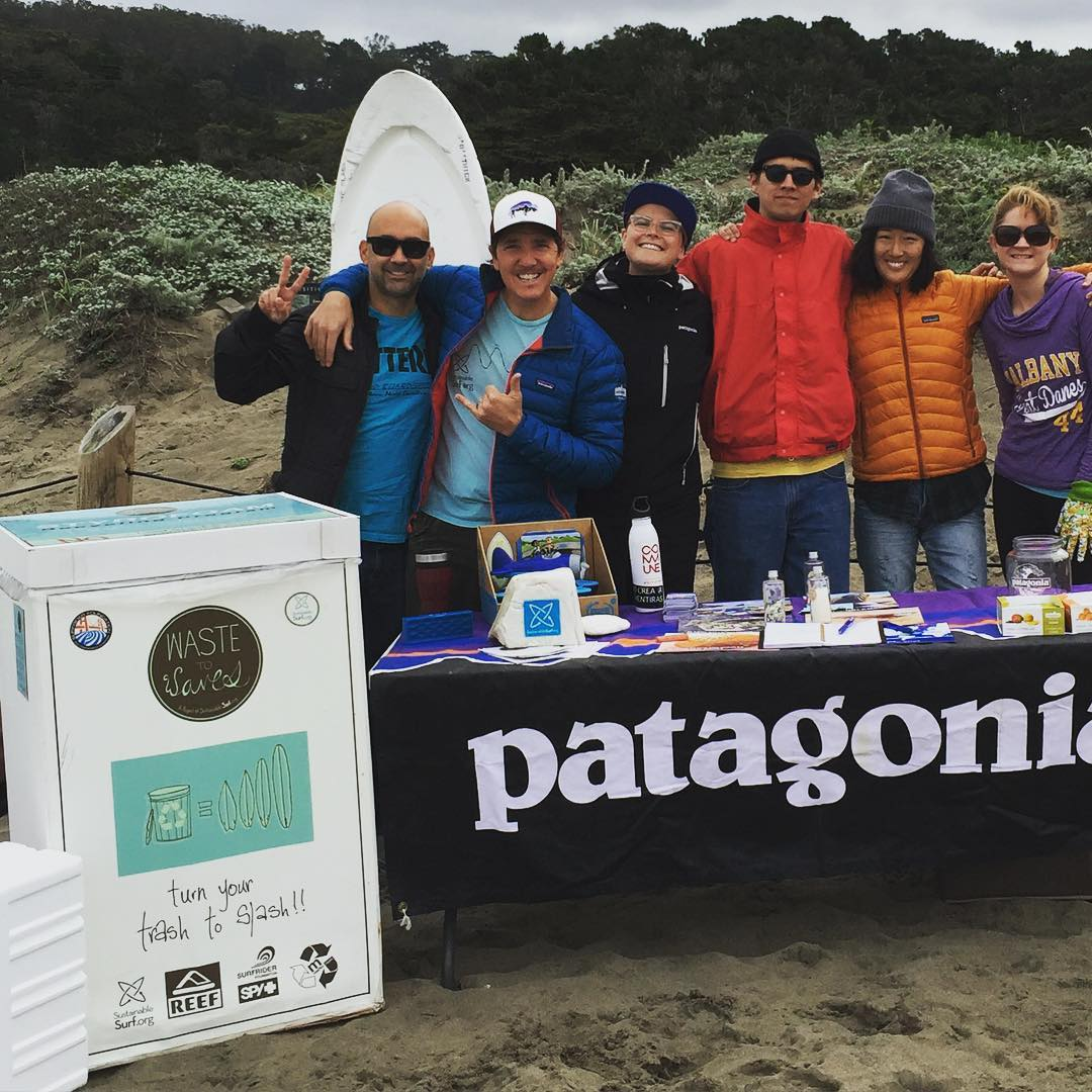 Happening Right NOW! Join our salty #BeachCleanUp crew right now #MondayMorning with pals @sfsurfrider @patagoniasf @5gyres at amazing  #BakerBeach in San Francisco