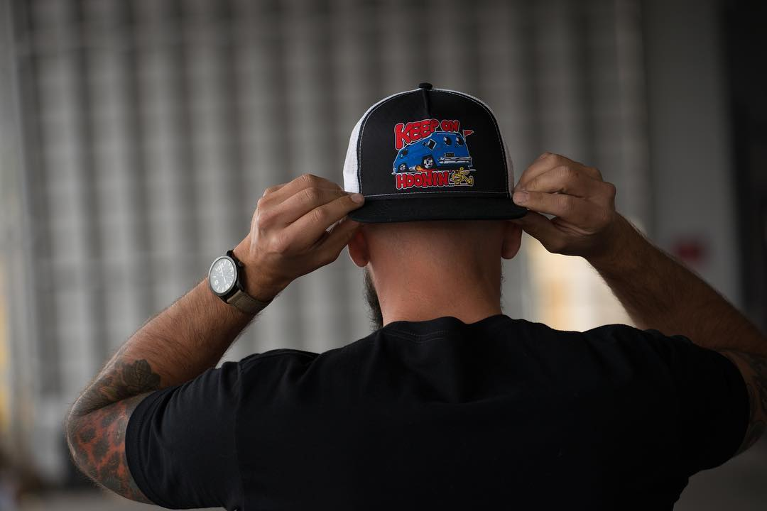Keep On Hoonin'. The all-new trucker hat, available now on #hooniganDOTcom.