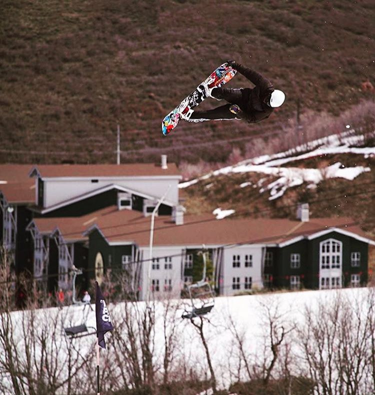 It's spring and it's time to send it! Never stop progressing. @thabyron_ma has been pushing his level all season, and it shows! #avalon7 #liveactivated #snowboarding www.followthestoke.com