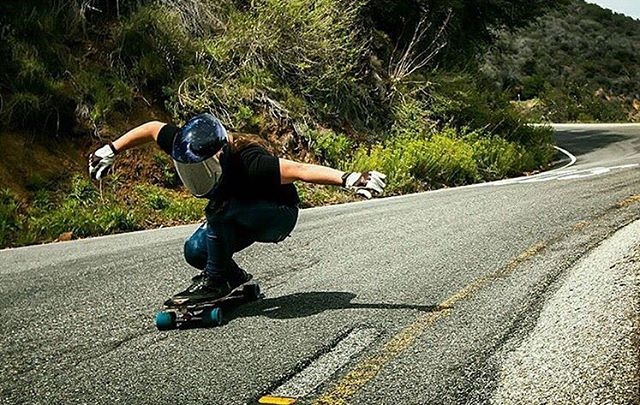 Radness! Go to longboardgirlscrew.com to see LGC US Ambassador @skatebagels bombing hills like there's no tomorrow. She's in The Philippines right now for the #VLT2016. Have fun over there Rach!  @stephen_vaughn photo.  #longboardgirlscrew...