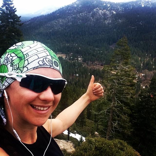 Running season is on! #beachbody #laketahoe @avalon7 @oakleysnowboarding #oakleynorcal @epicbar #runwild #wildandfree