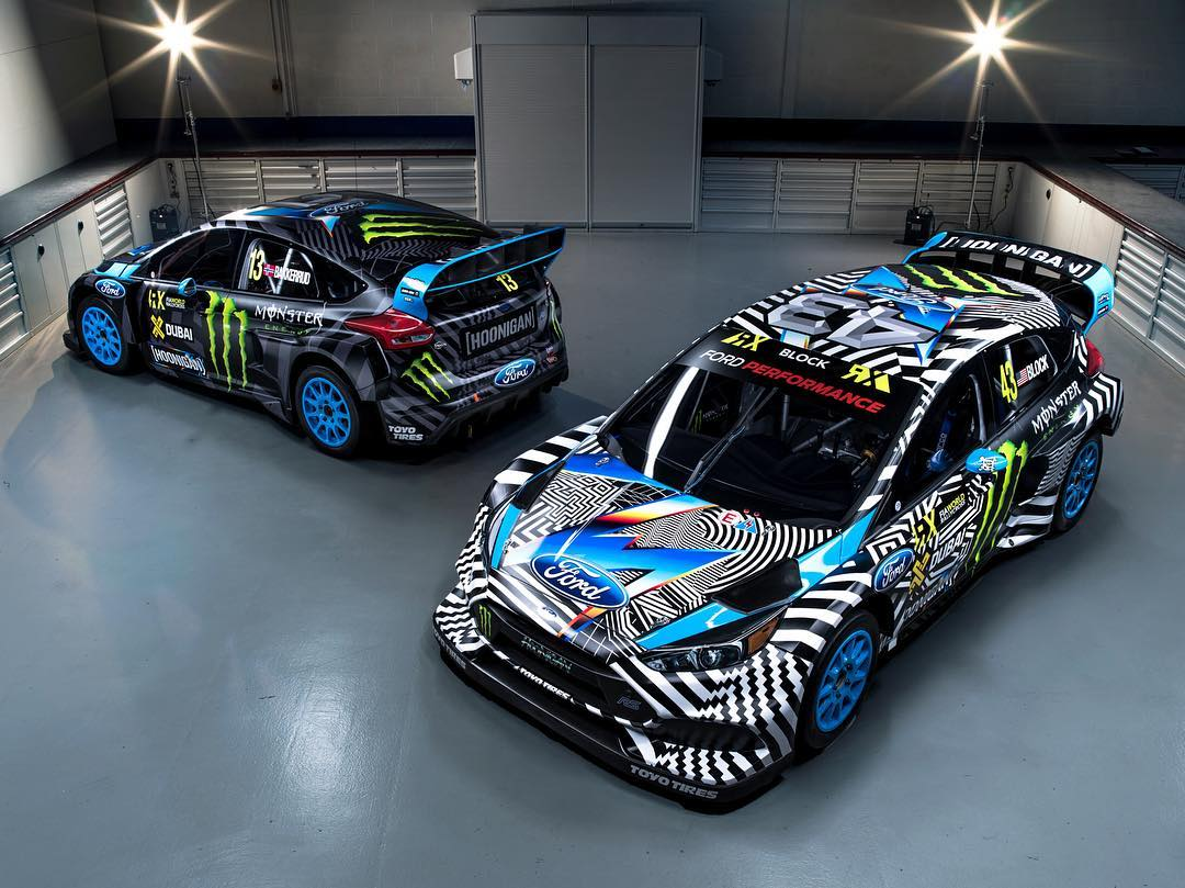 ALL NEW 2016 Hoonigan Racing by @FelipePantone livery - check it out! I'm a huge fan of Felipe's work, and I think it's awesome that we were able to work together to have him create bespoke art in his signature style for us - that was then made into a...