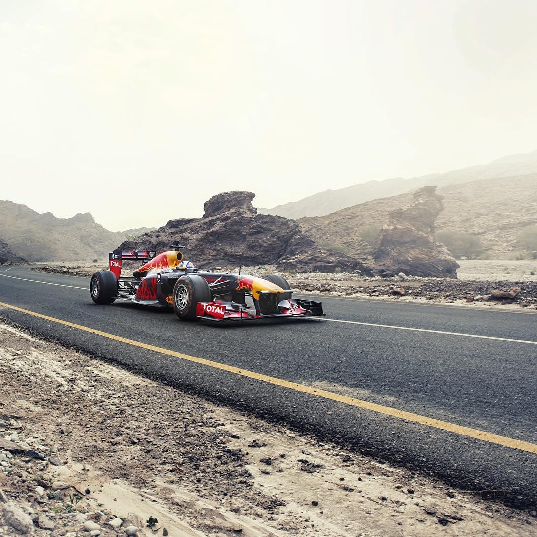 Desert drivin'.