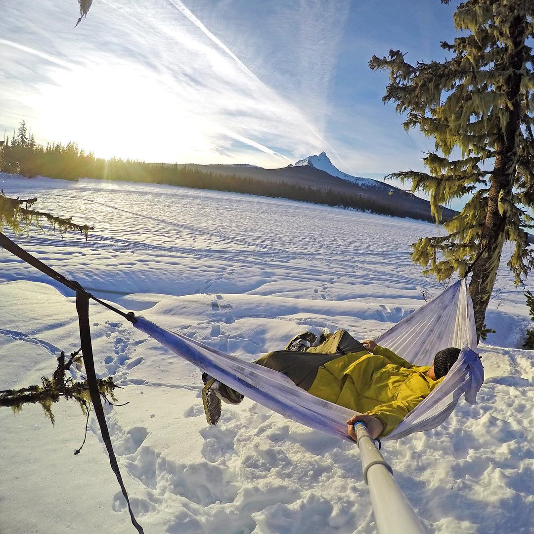 """Life is better when spent in a hammock."" Photo: @mr0tt GoPro HERO4 