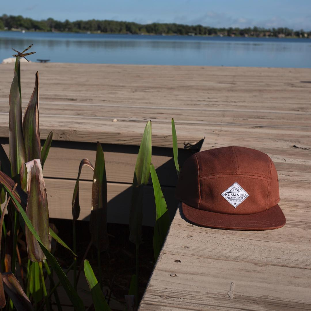 New hats on dock.  Only at humanoidwake.com