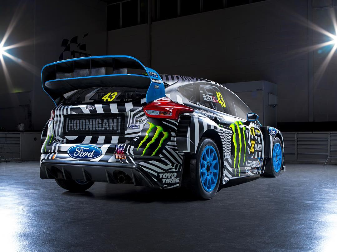 That rear end though! I can't imagine a better car than the the Ford Focus RS RX to be wrapped in this livery: a car that's a collaboration between @FordPerformance and @MSportLTD, shod in graphics developed as a collaboration between @HooniganRacing...
