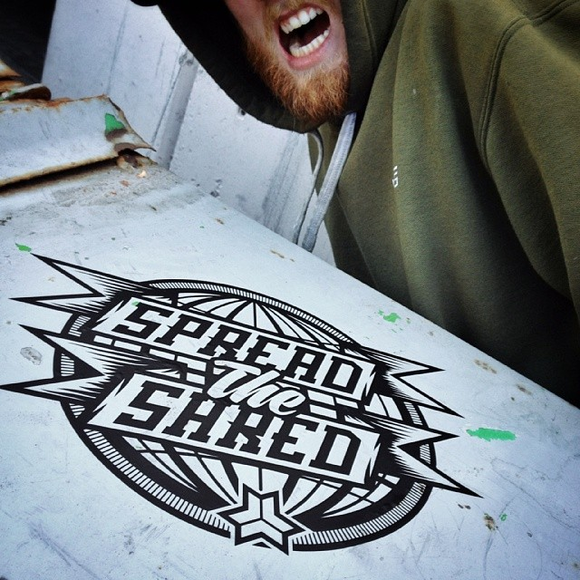 Hype, #Spreadtheshred #Freebord tour, hope you guys are ready.