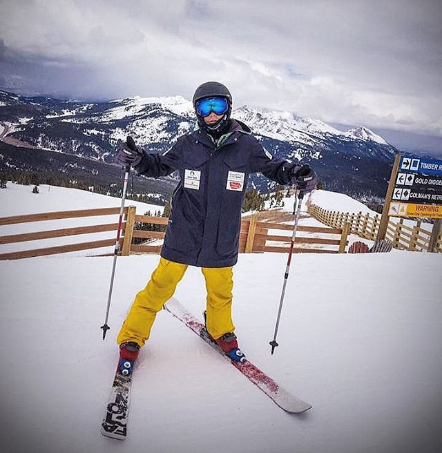 Couldn't be more #proud of our #University student Aaron who competed at the #USASA Nationals at @coppermtn over the weekend!