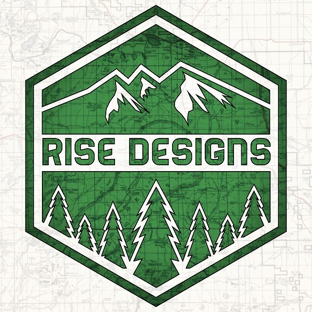 New summer gear is in the works. Always trying to up the game a little bit. Can't wait to share it all once the time comes. #risedesigns #risedesignstahoe #graphicdesign #inspiredbynature #tahoelife #naturelovers #logo