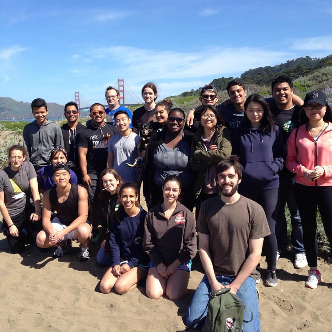 Our SF beach clean up volunteers stoke us out. Happy #nationalvolunteerweek! Tag us in your group shots. #volunteer #beachcleanup #SF #CA