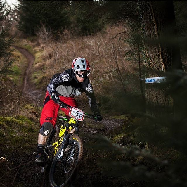 Regram from UK shredder @joelchidley, getting wild going #fullenduro at the recent @welshgravityenduro in our Evo combo #EvoKnee // #EvoAM #SixSixOne #661Protection #ProtectFun #Repost @bird_mtb