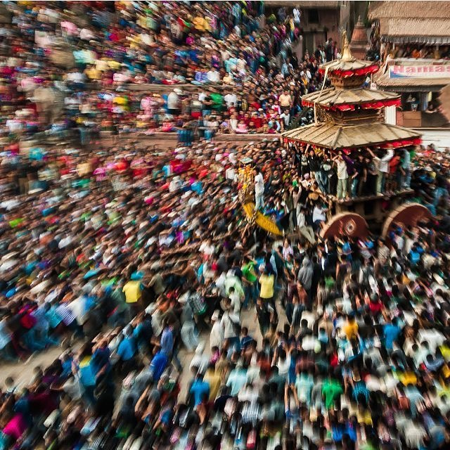 It's been a tough year for Nepal with two massive earthquakes followed by a 5 month politically fueled blockade resulting in an extreme shortage of goods. But today the streets were filled with people celebrating the Nepali New Year with hope of new...