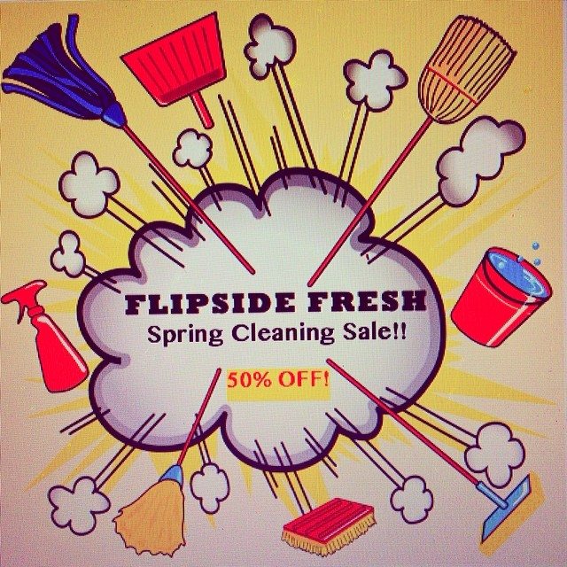 We had a great year on the slopes this season, but spring and summer are upon us!  Flipside Fresh is doing some spring cleaning! Help us make room for NEW fresh gear coming this fall! Take advantage of our 50% off sale going on now at...