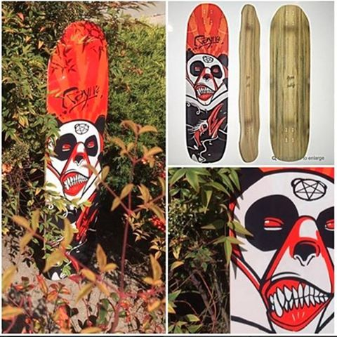 Proud to offer one of our favorite graphics on the Rayne Otherside - exclusively through MuirSkate. Go check out these #limitededition #custom angry panda Otherside decks made exculsively for @muirskate