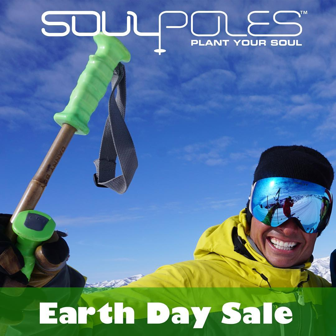 "leading up to the earth day celebrations at @altaskiarea this saturday, we're having a blowout sale! 40% off site wide!  use coupon code ""oneearth"" at checkout."