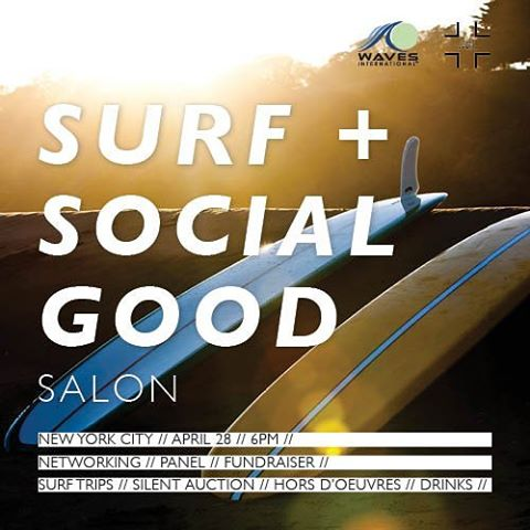 Game on! Join us for an informative and generative conversation with surfers hustling for good.