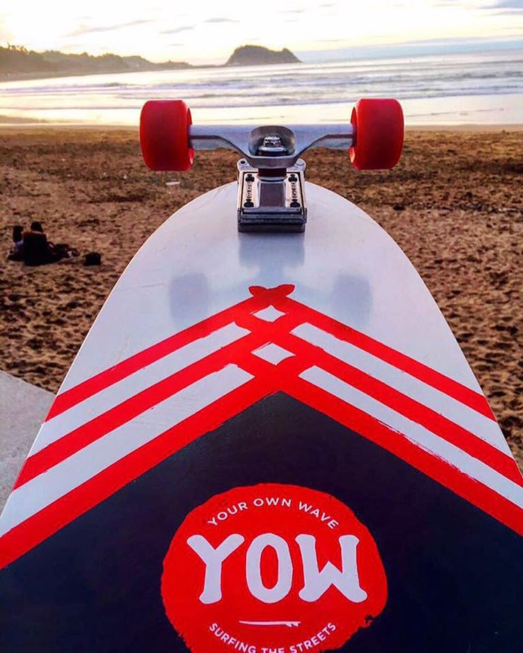 we are stoked to be the stock trucks on the new @yowstreetsurfing boards. check these things out, they are so fun!