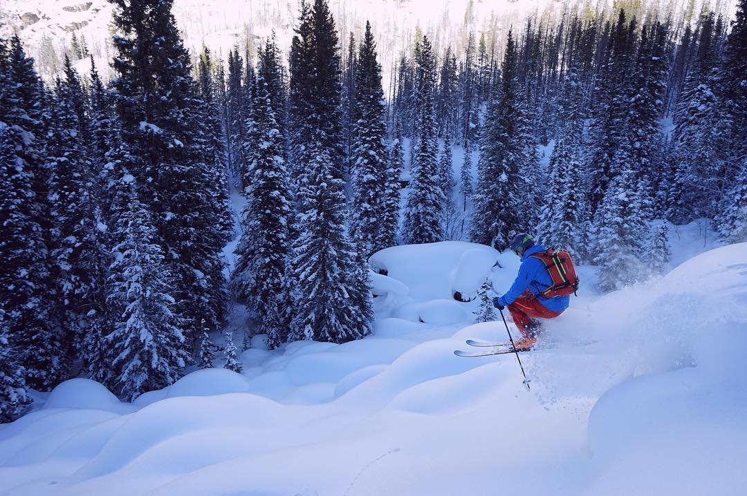I'm a #backcountry skier.  I feel like I was born to do it.  I love the independence and being responsible for my decisions.  I love the solitude of wilderness.  I love the challenge of an approach.  I love exploring new places.  I love the imposing...