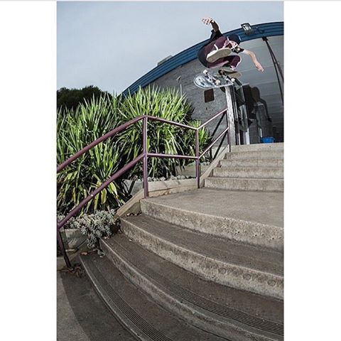 Australian Mystery Team rider @harrymcevoy with a sizeable heelflip