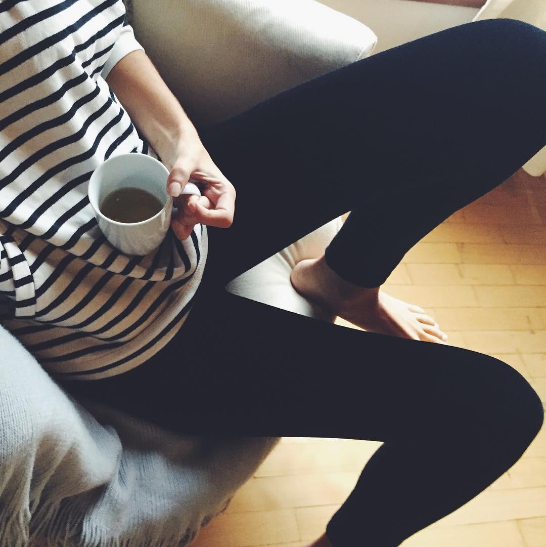 Tea time ☕️ Legging Velvet • (Pana Elastizada)