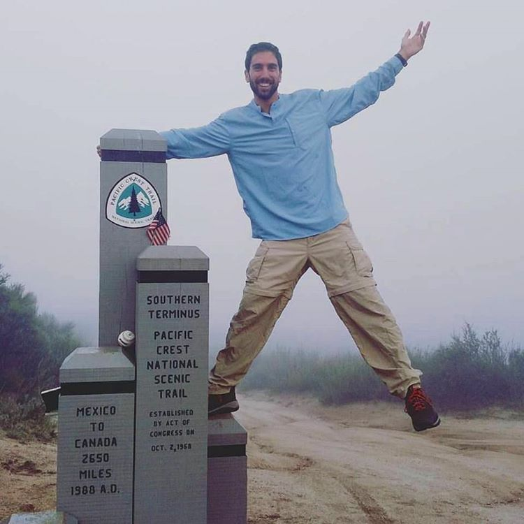 Matt has embarked on his #epic #PCT journey! Support his pledge campaign benefiting @sosoutreach at: https://goo.gl/kWcIGt