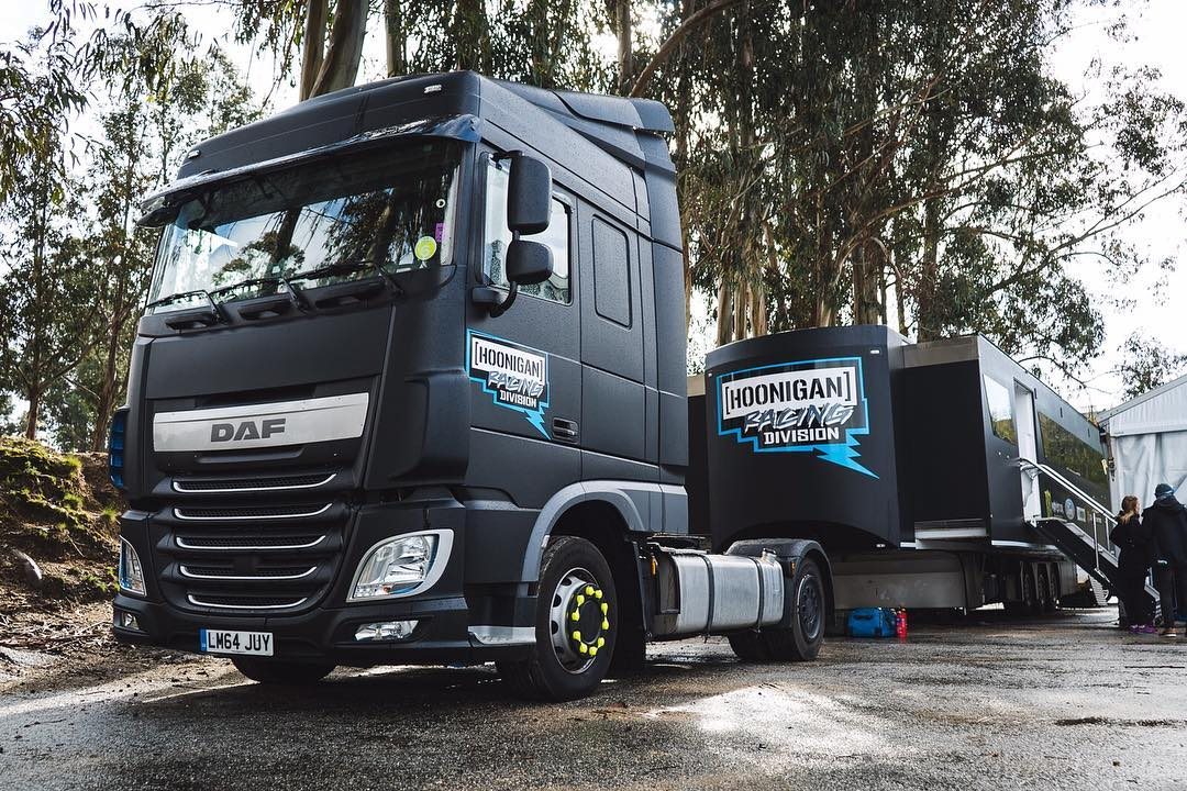 New HRD truck is DAF.... AF. #WorldRX