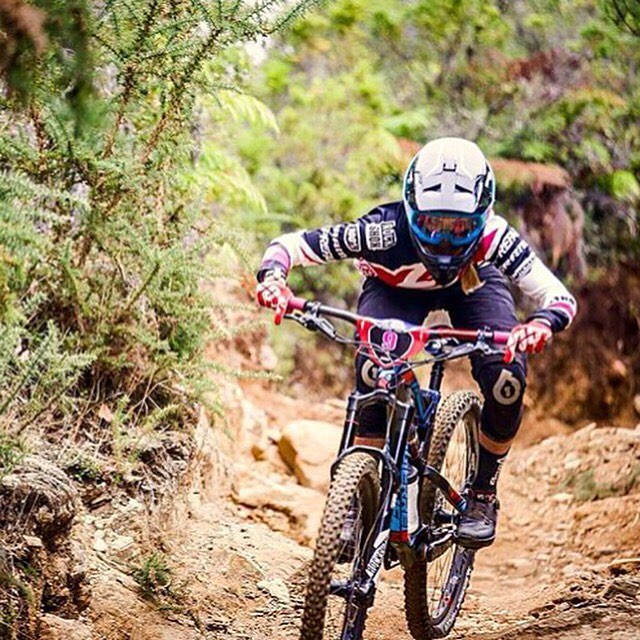 """Focussed!"" @lapierrebikes Enduro rider @rae_morrison taking on all that #ewscorral had to offer! Rae is only going to get faster this season, excited to look ahead to round 3 in Ireland next month. We're stoked to keep the whole team safe with our..."