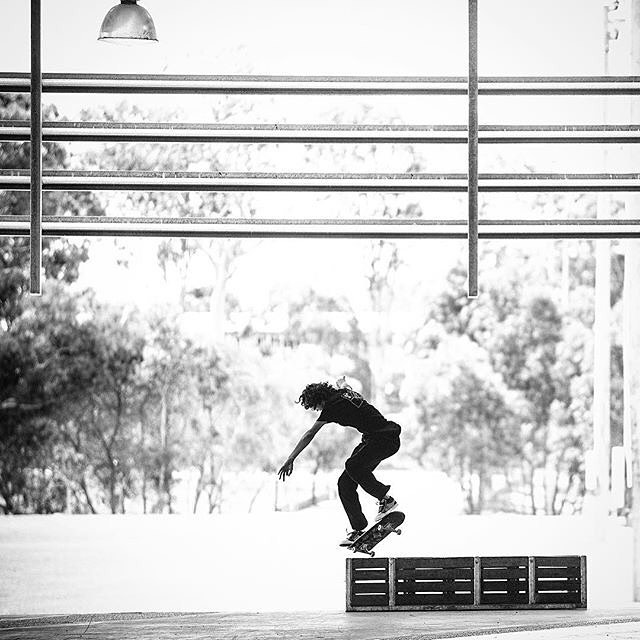 @starheadbody, kickflip backside noseblunt on a recent tour through Australia. Photo: @blabacphoto #EvanSmith #DCShoes