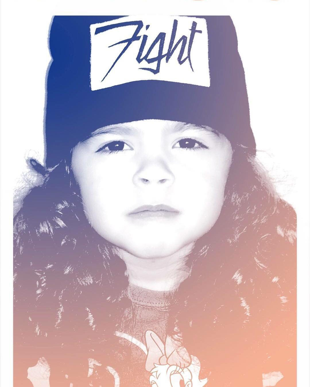 La más hermosa Nomi nos mandó su foto @fightforyourrightok ! #actitudfight