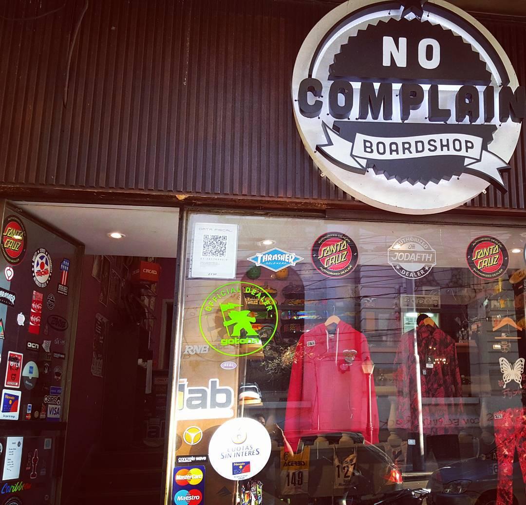 Conseguí toda nuestra colección en No Complain Skate Shop, Mendoza #gotcha #iconsneverdie