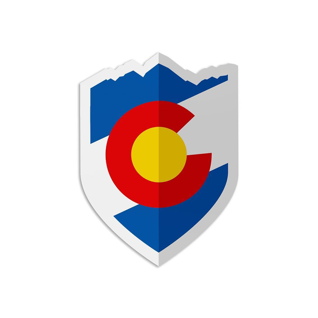 "WIN some CO Shield decals... Just like and tag a friend!  25% off with ""freshnewsite"" - www.kinddesign.co #kinddesign #colorado #decal #design #graphicdesign #icon #liveyourdream"