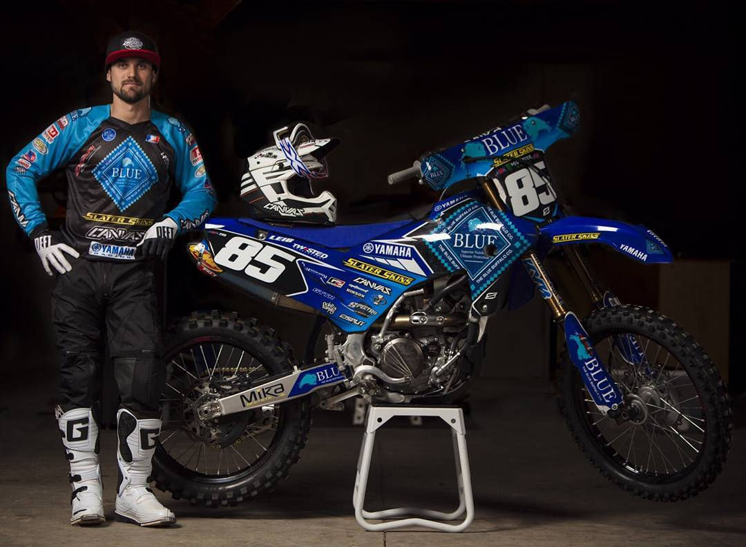 Otro gran dia en el #amasupercross junto a nuestro amigo y top rider @michaelleib85 . Have a great ride buddy!!!