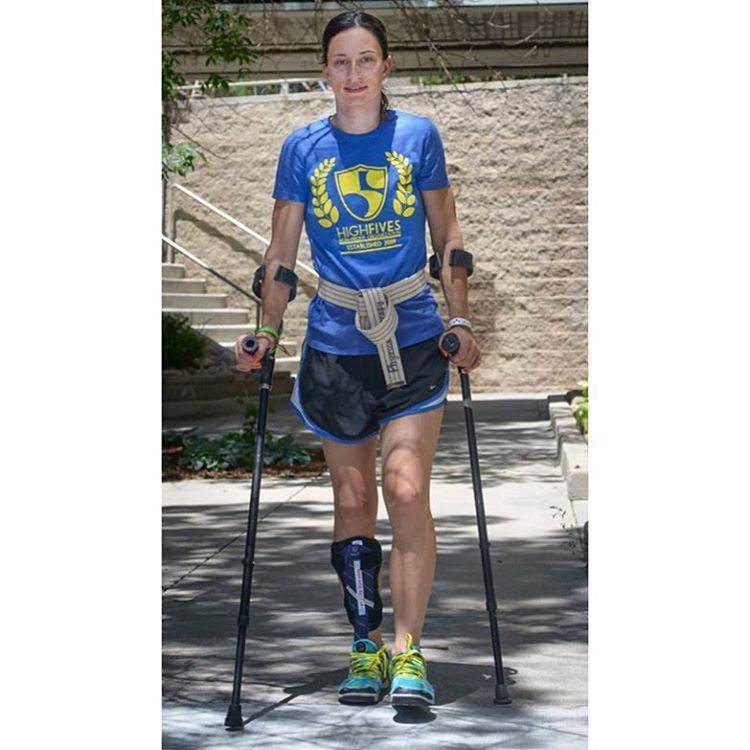 #HighFivesAthlete @juddjoce going above and beyond in her rehab @craighospital in 2014! Jocelyn is one of the 14 athletes that High Fives has assisted at Craig...interested in the process of what it's like being an athlete at Craig? Stay tuned for the...