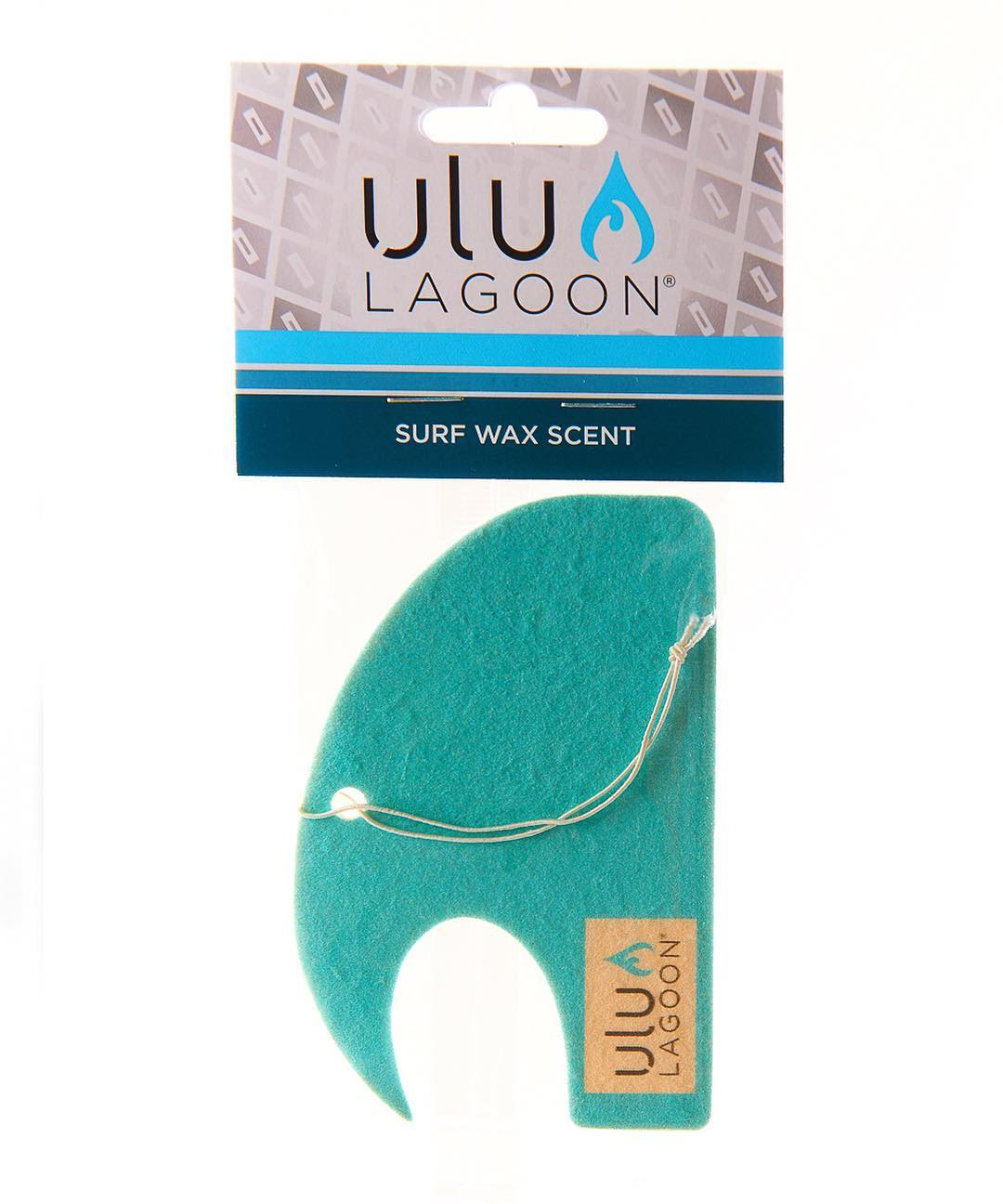 No other color symbolizes the ocean better than blue. So whether you're in the mountains or by the sea, ulu LAGOON's blue surf wax scented mini wave air freshener will appeal to the ocean goer inside of you.