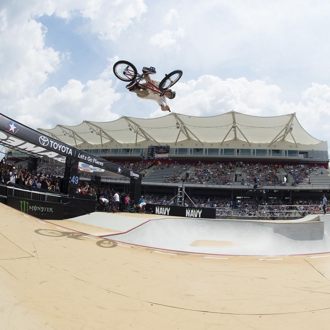 #XGames Austin is goin' down June 2-5 at @COTA_Official! (