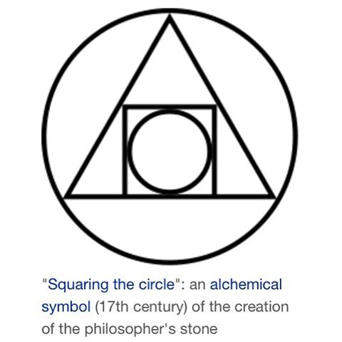Squaring the Circle is symbolic of doing that which is impossible.... #avalon7 #liveactivated www.avalon7.co
