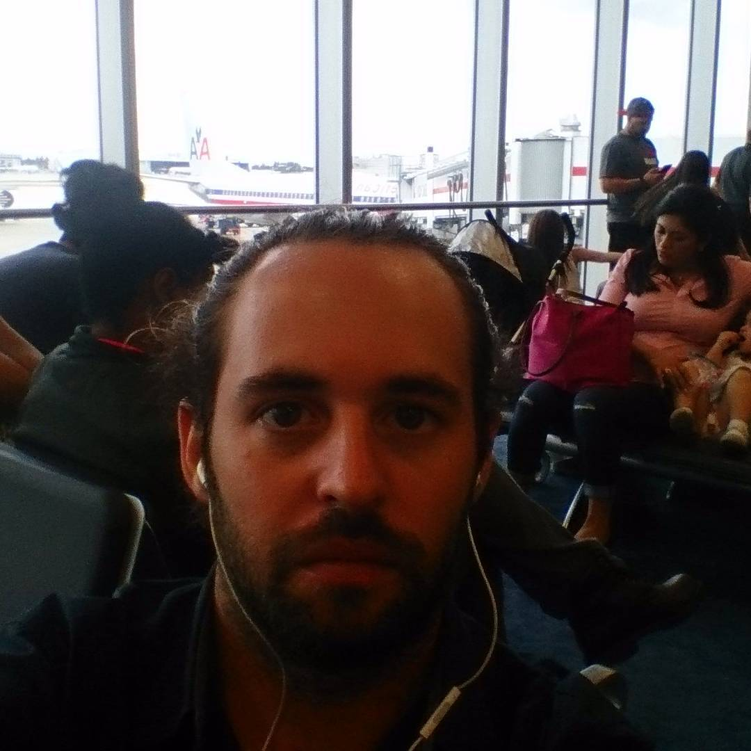 Waiting my flight from #MIA to #LAX #USA