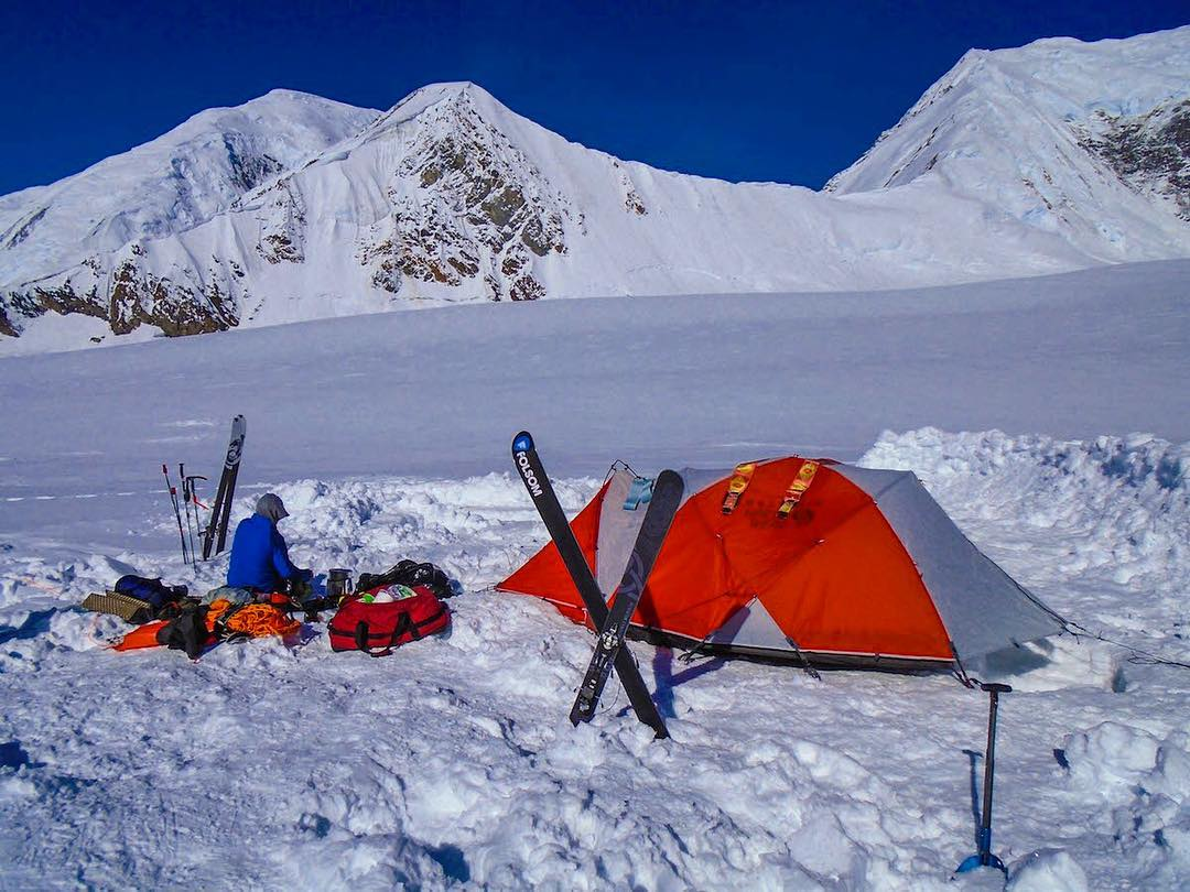 Since I'm in the middle of planning several expeditions, I figured I'd finish my Instagram takeover with photos from my favorite #expedition yet - climbing and #skiing #Denali.  On an expedition your skis are much more than recreational...