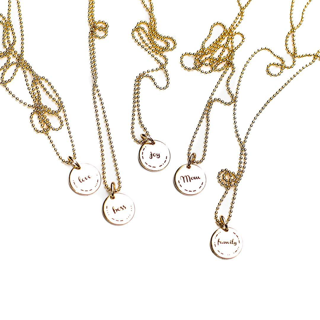 Well now there's something to talk about. Morse Code Charms in 13 new styles! Entirely 14kGF for your everyday wear. Something special for #mom, #bestfriends , #sisters or a great way to remind yourself of something meaningful.  Made in the USA from...