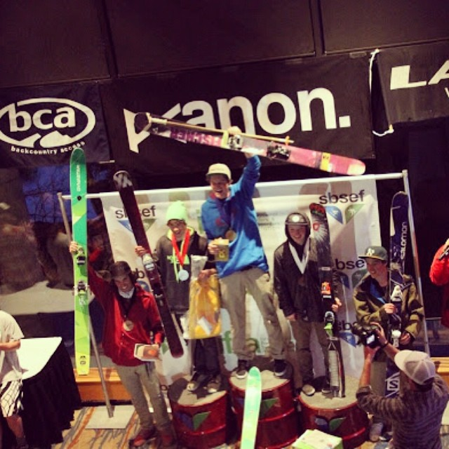 Congratulations @mjlentz and @cooperbathgate on your first and third place podium finishes in the #IFSA14 Championships at @snowbird!  You guys have done so much for Soul Poles and our sport this year.  It's great to have some #qualityshafts swing...