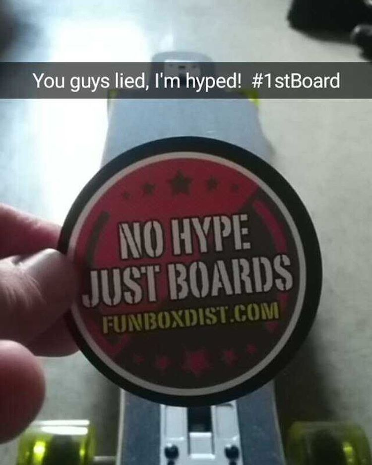 #thanks for the #support. #hyped your hyped. #skate #longboard #longboarding #concretewave #snapchat #fanluv